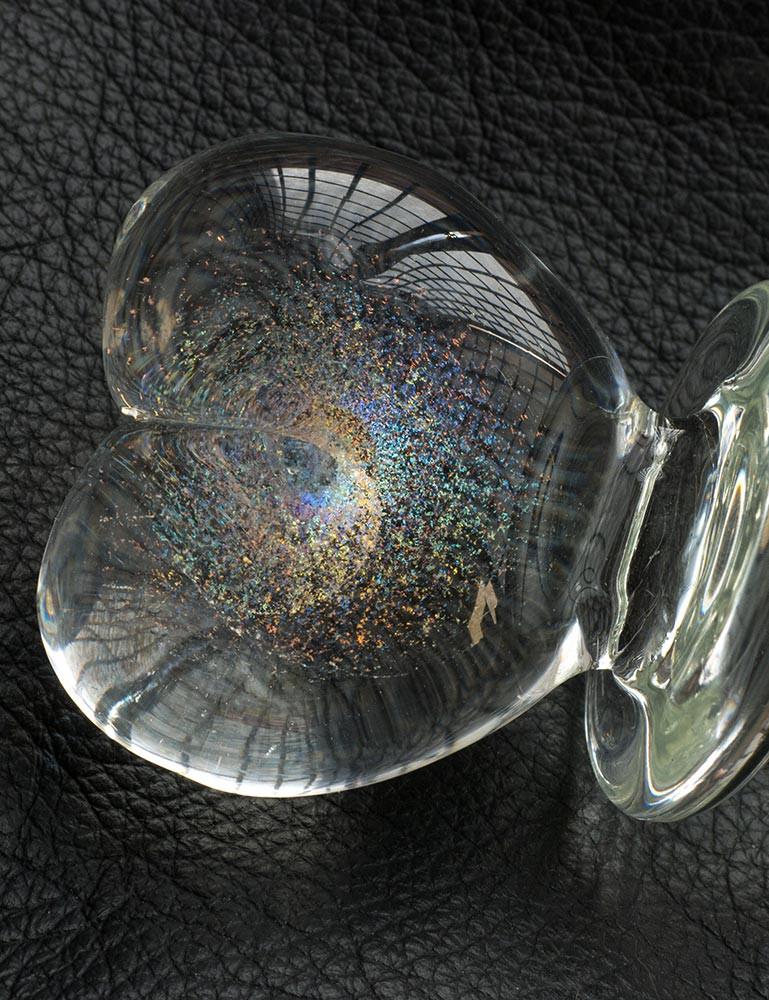 Angel Heart Glass Dildo