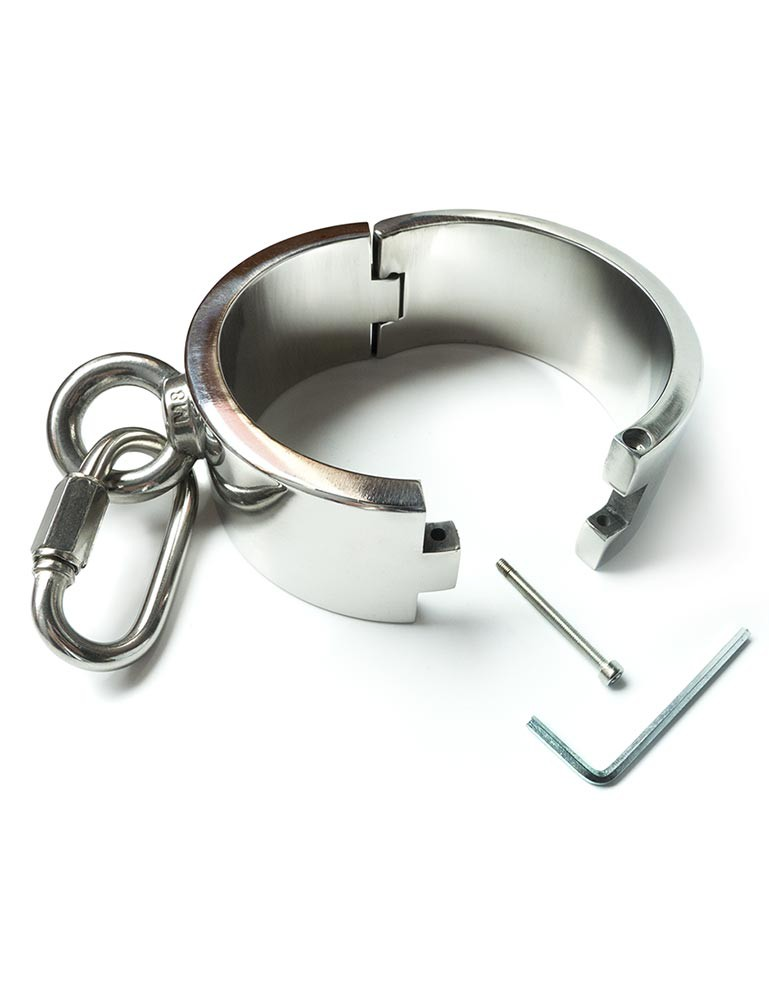 Stainless Steel Ankle and Wrist Bondage Set