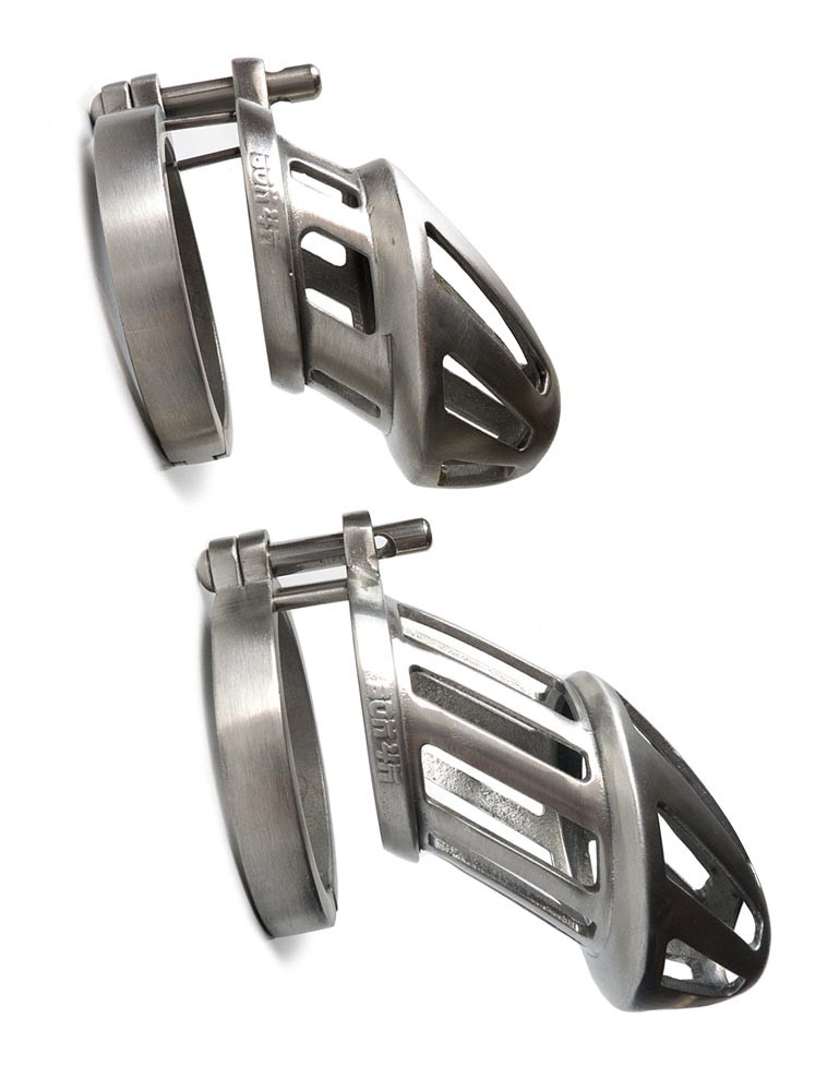 BON4M Stainless Steel Chastity Cage