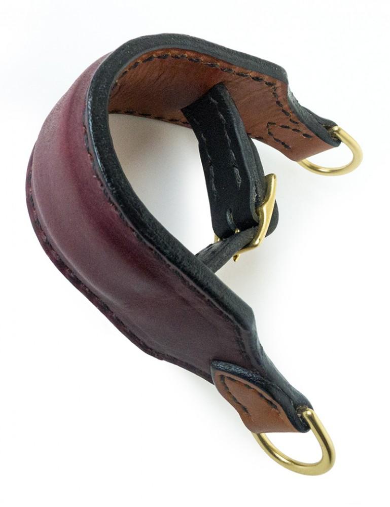 Handmade Premium Leather Wrist Cuff Pair by Paraphilia