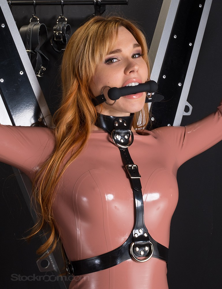 Silicone Bit Gag with Silicone Strap