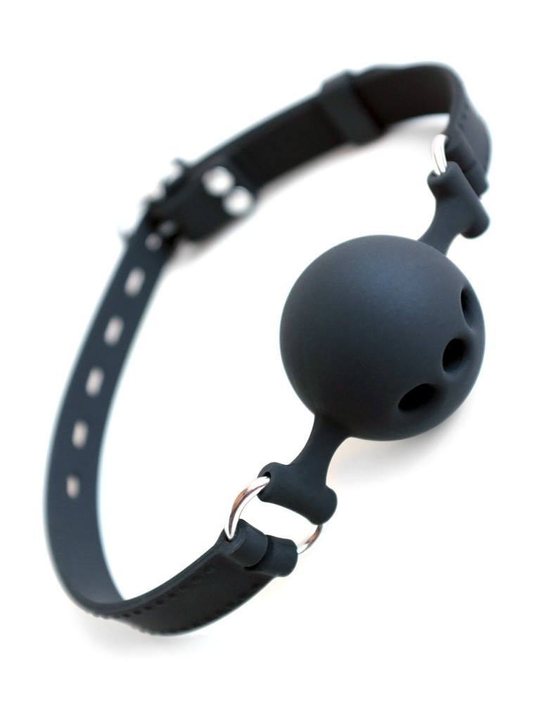 Silicone Ball Gag with Silicone Strap