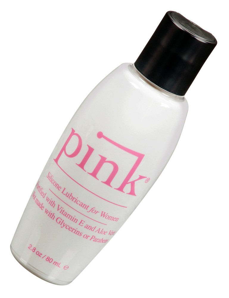 Pink Silicone Lubricant for Women