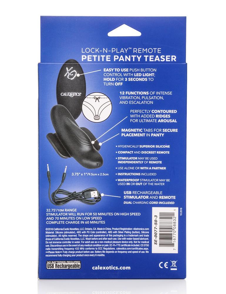 Lock-N-Play Remote Petite Panty Teaser