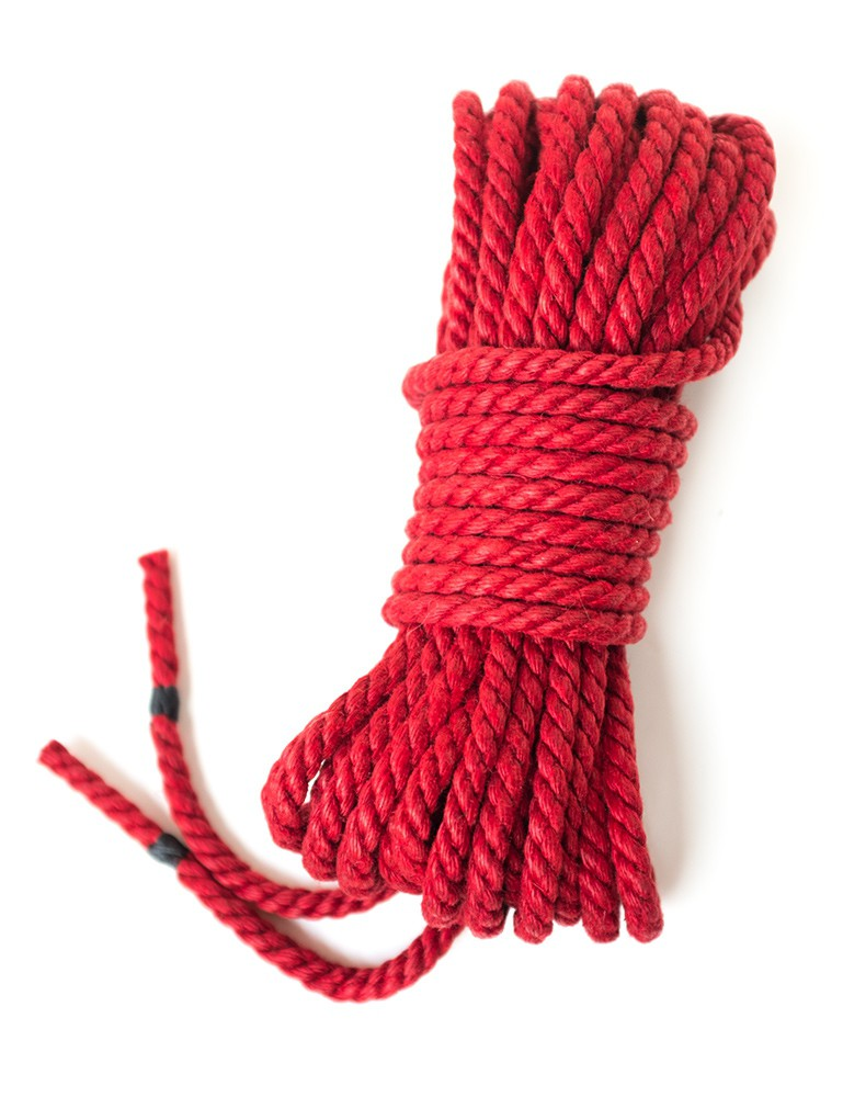 Hemp Bondage Rope by Twisted Monk