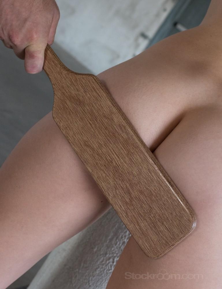 """Stockroom Plywood Spanking Paddle 16"""""""