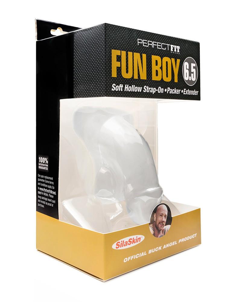 "Buck Angel's Fun Boy Packer 6.5"""