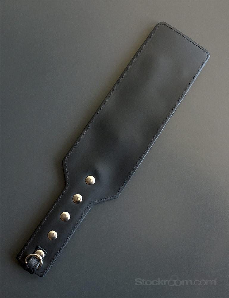 ElectraStim ElectraPaddle Leather Spanking Paddle