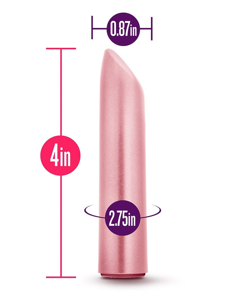 Exposed Nocturnal Rechargeable Lipstick Vibe, Dusty Rose