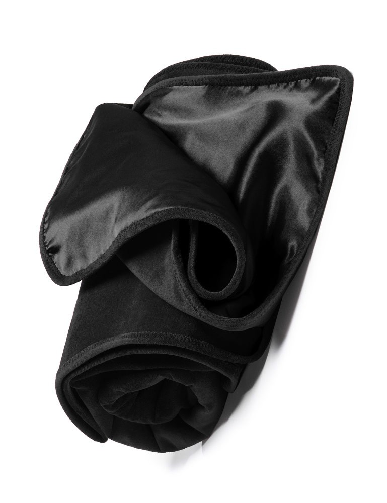 Fascinator Protective Bed Throw by Liberator, Black
