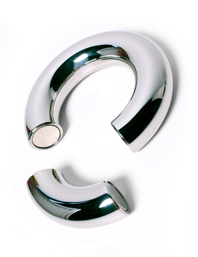 Ze Don Stackable Magnetic Ball Stretcher, Stainless Steel