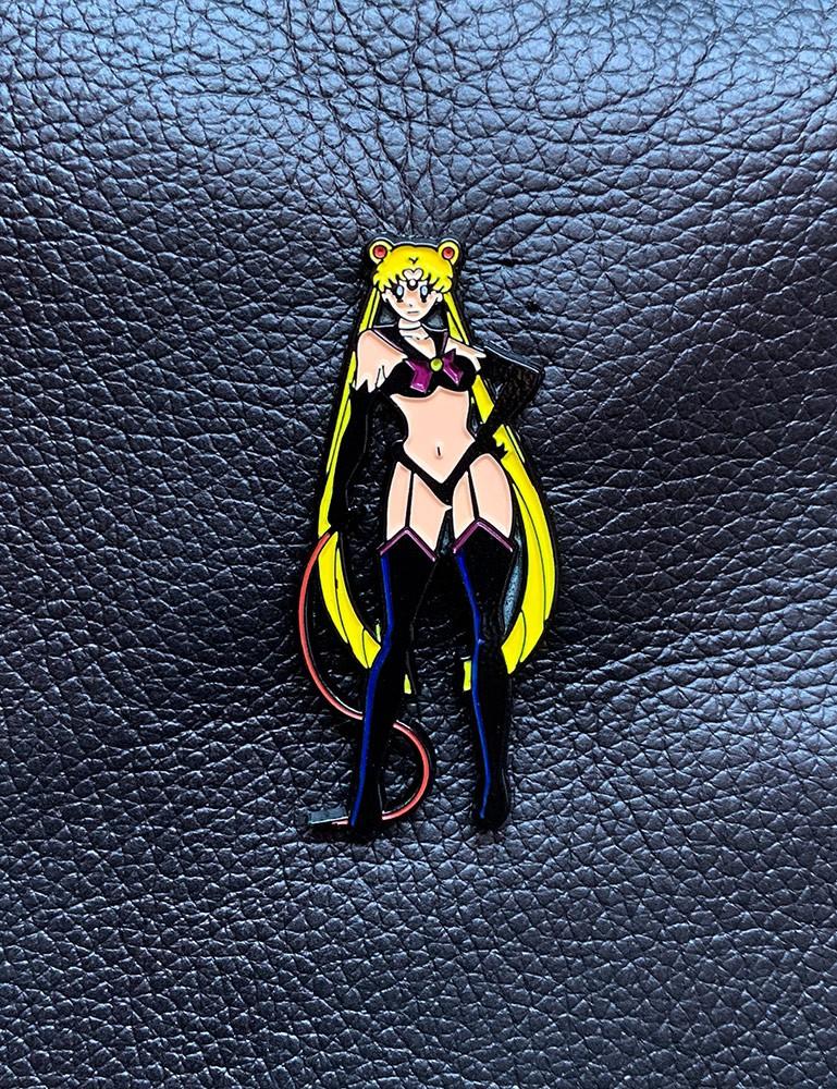 Mistress Moon Enamel Pin