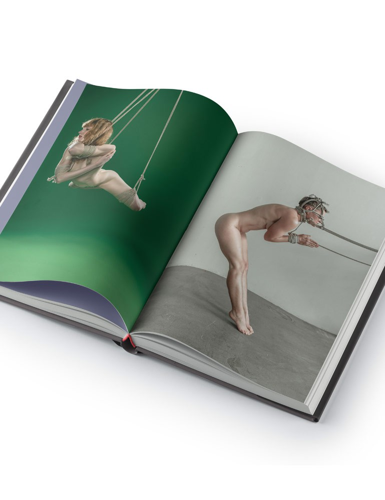 Light/Shadow/Color Bondage Photography Book