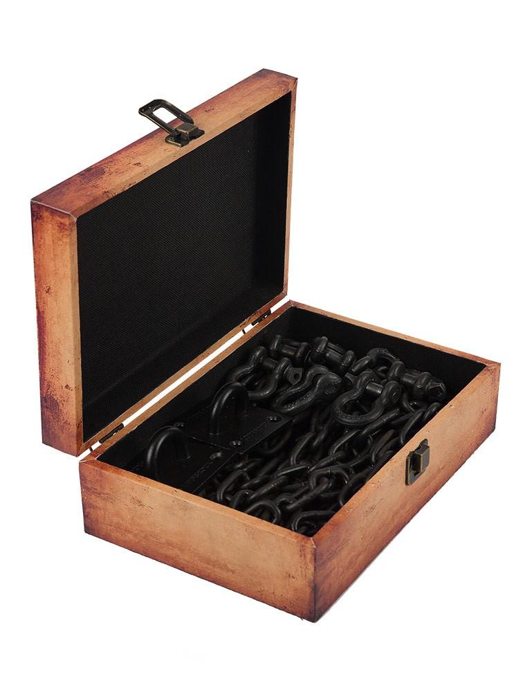 Schlossmeister Lodbrock BDSM Chain Set with Case