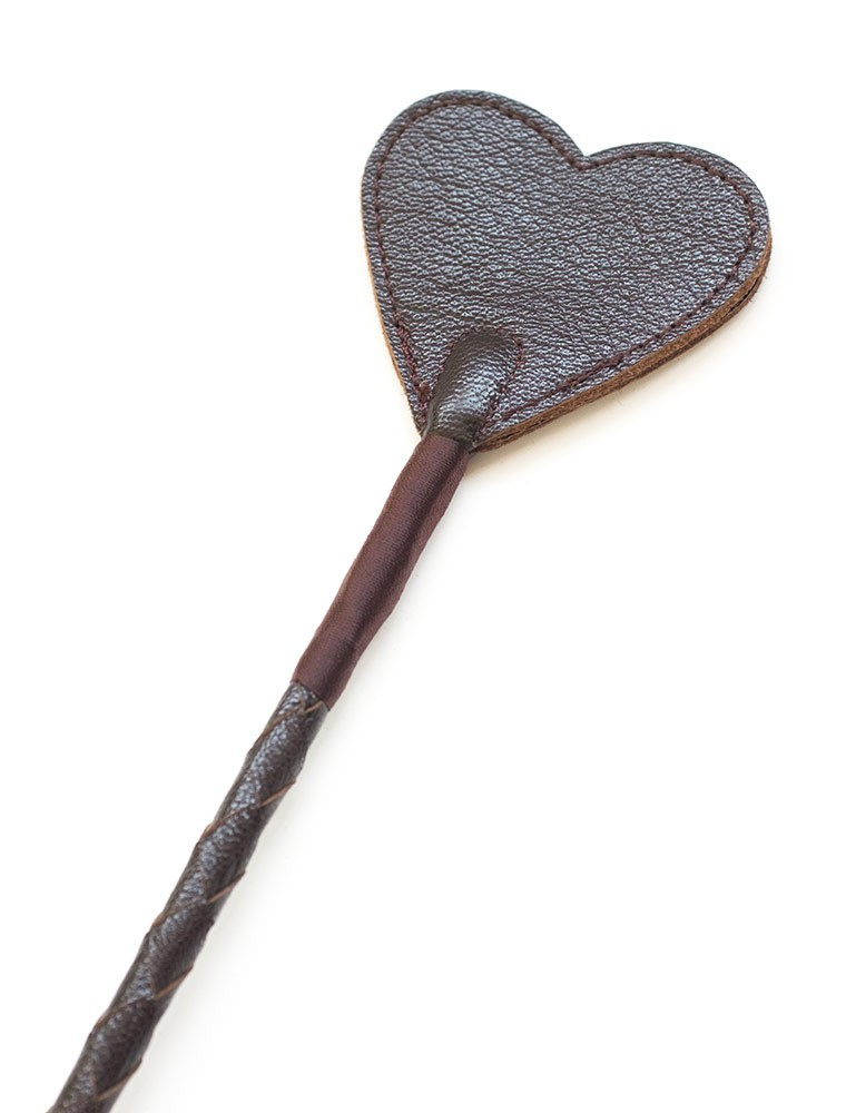 Brown Leather Riding Crop