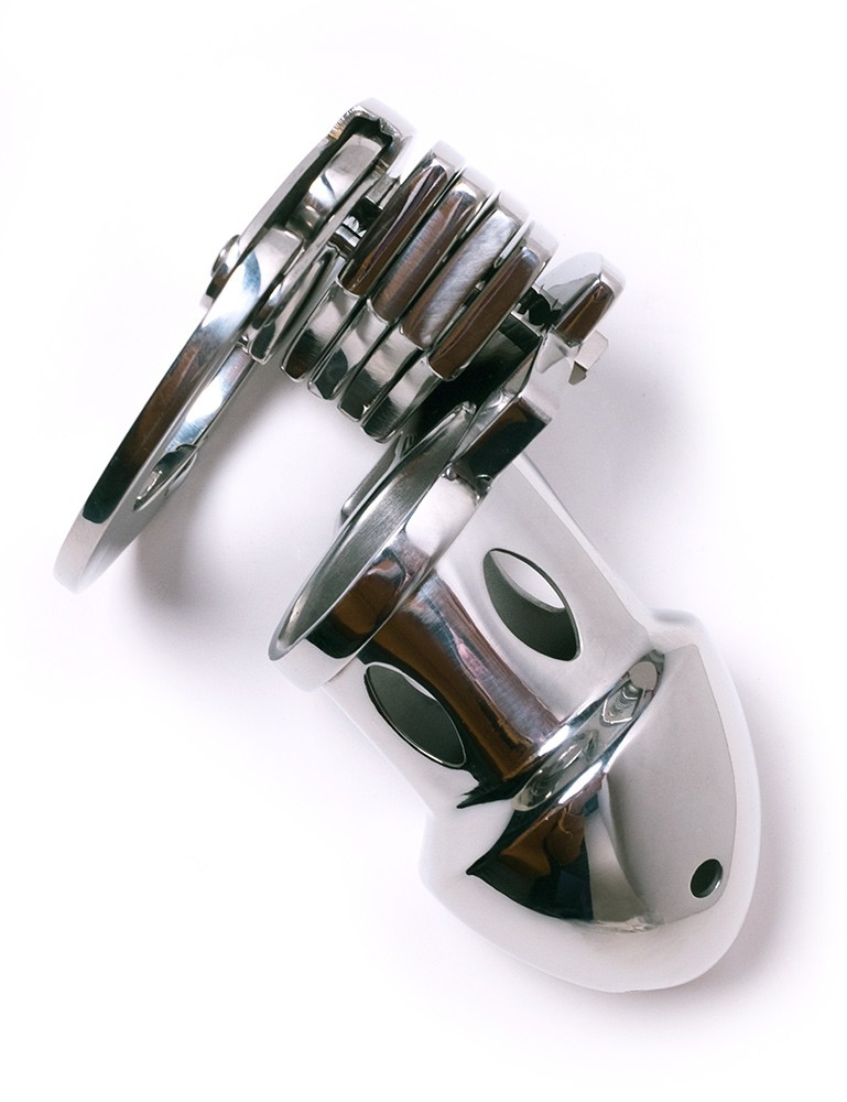 Adjustable Stainless Steel Male Chastity Cage