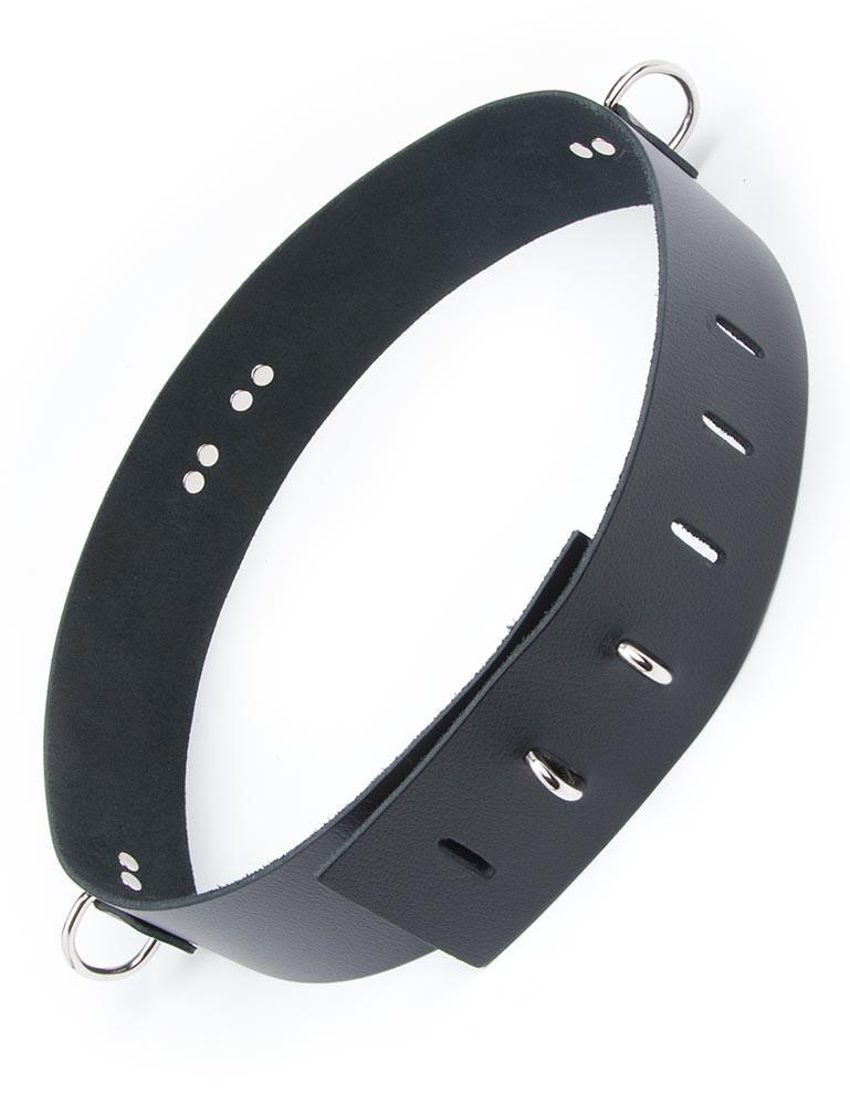 Leather Waist Cuff (Bondage Belt)