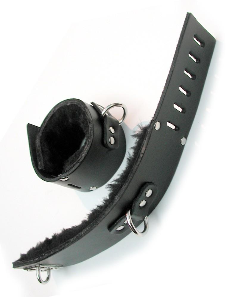 Fleece-Lined Ankle Cuffs w/ D-Ring