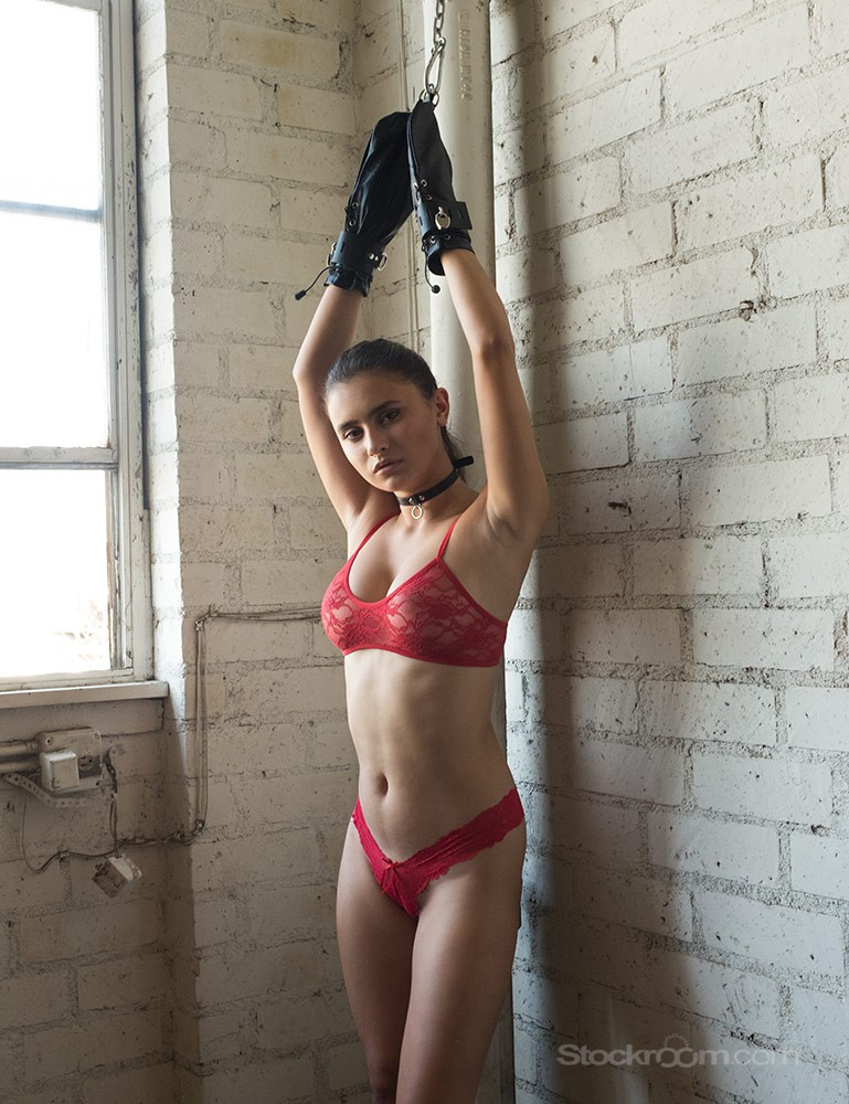Women in leather bondage