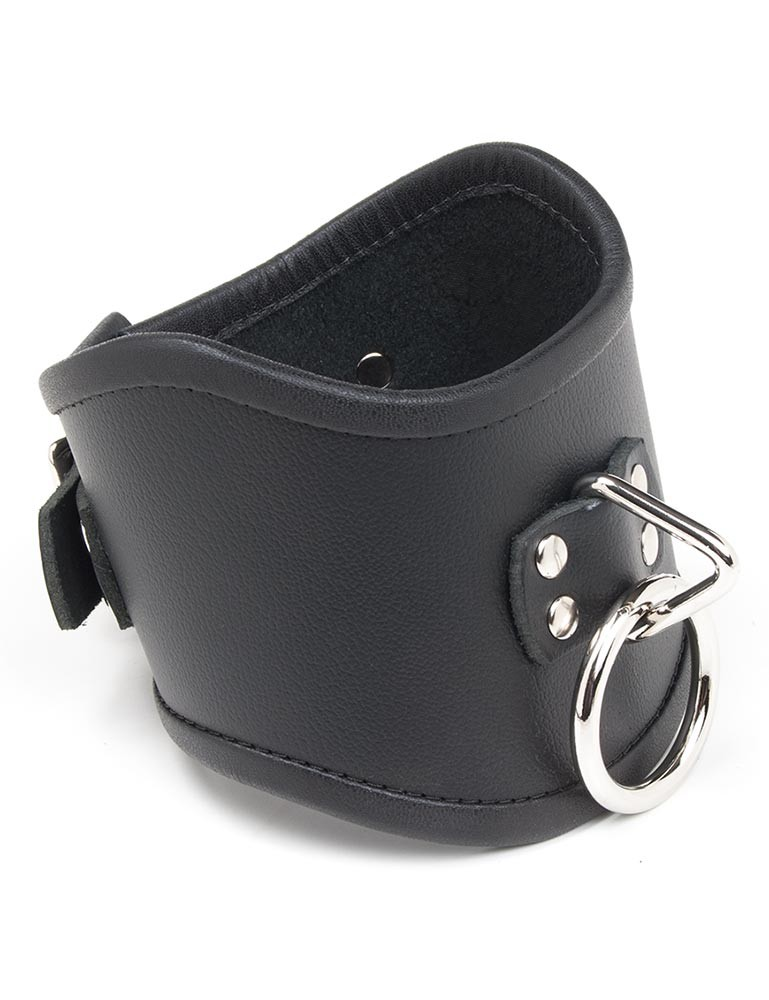 Tall Curved Posture Collar w/Locking Buckle