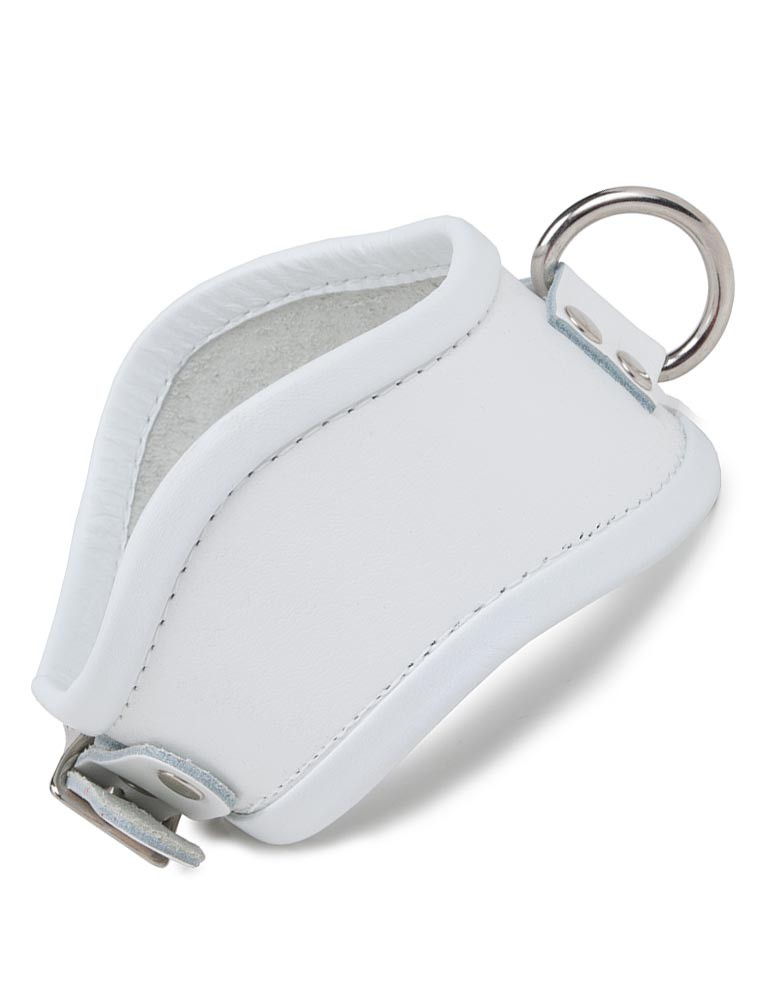 White Curved Posture Collar