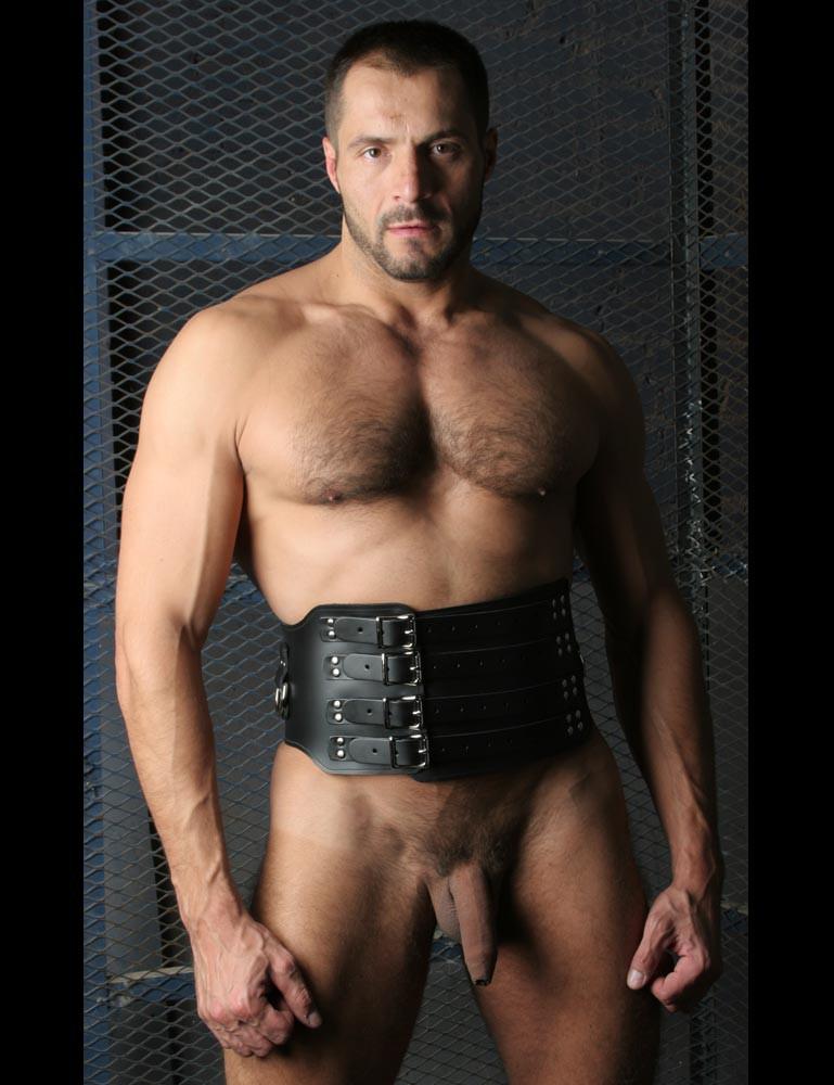 Heavy Leather Waist Cincher
