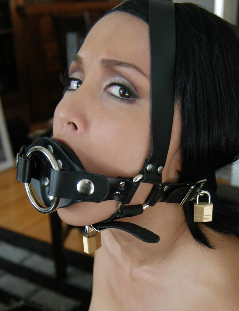 Dildo Mask Porn - Trainer Ball Gag w/ Dildo Ring