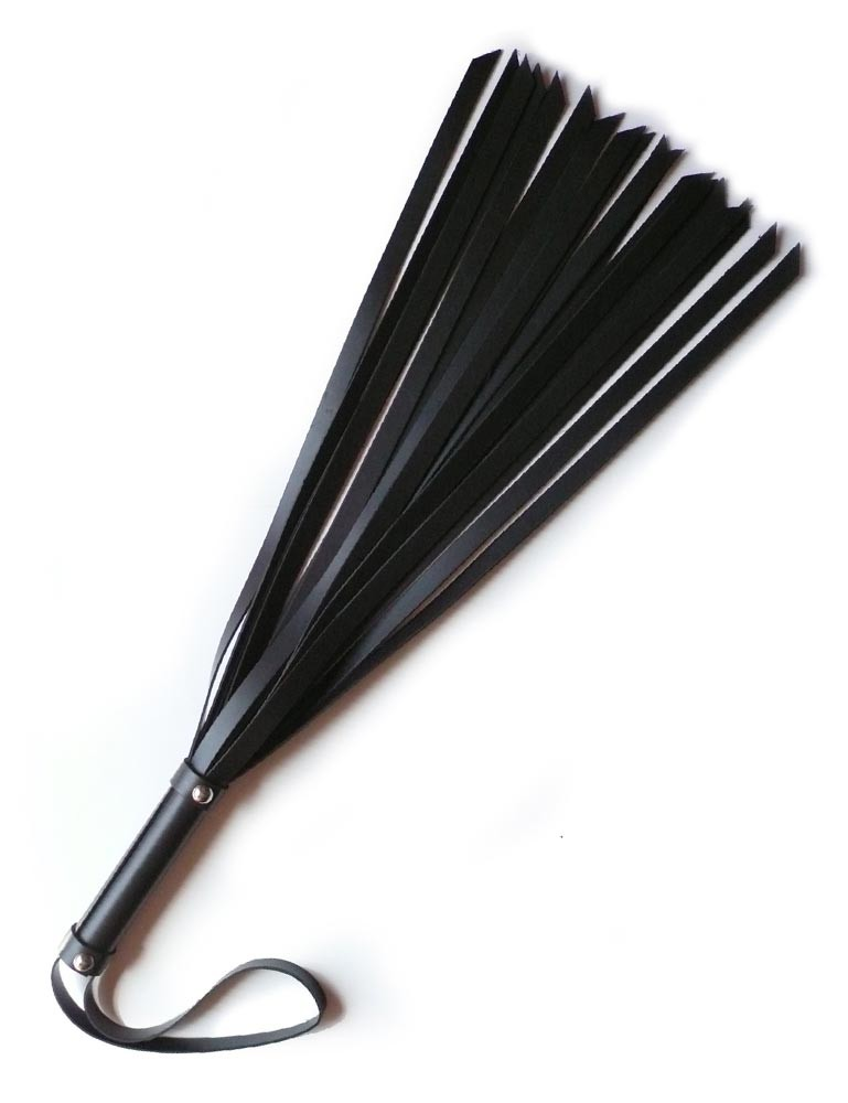 "18"" Basic Leather Flogger"