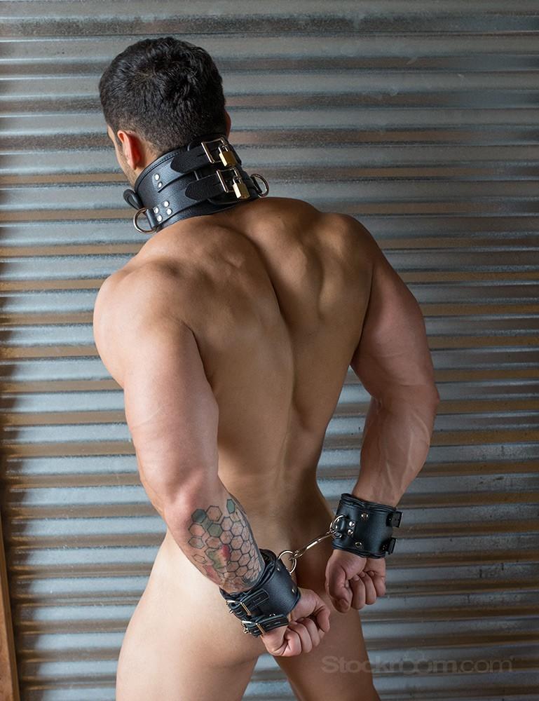 Premium Lockable Leather Wrist Cuffs