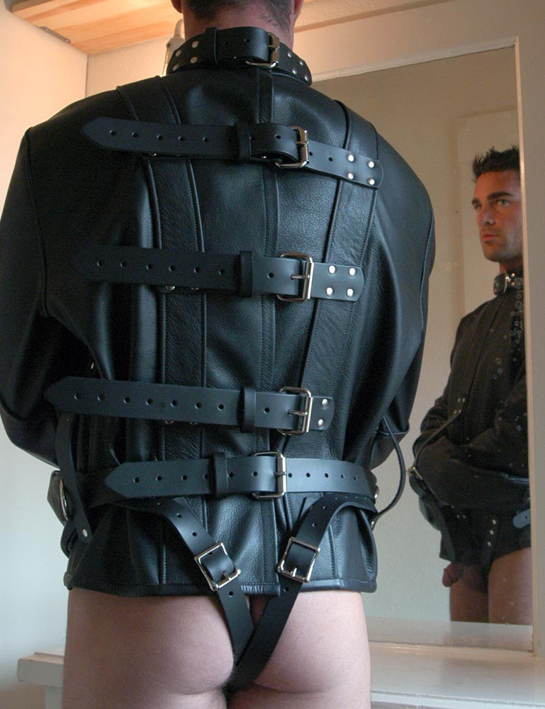 Premium Leather Straitjacket