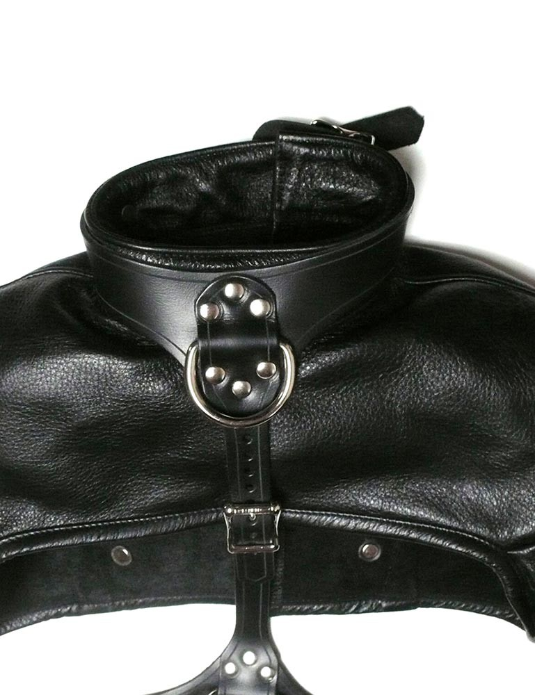 Bolero Leather Bondage Straitjacket