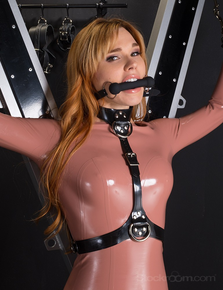 Bust Harness - In Leather or PVC