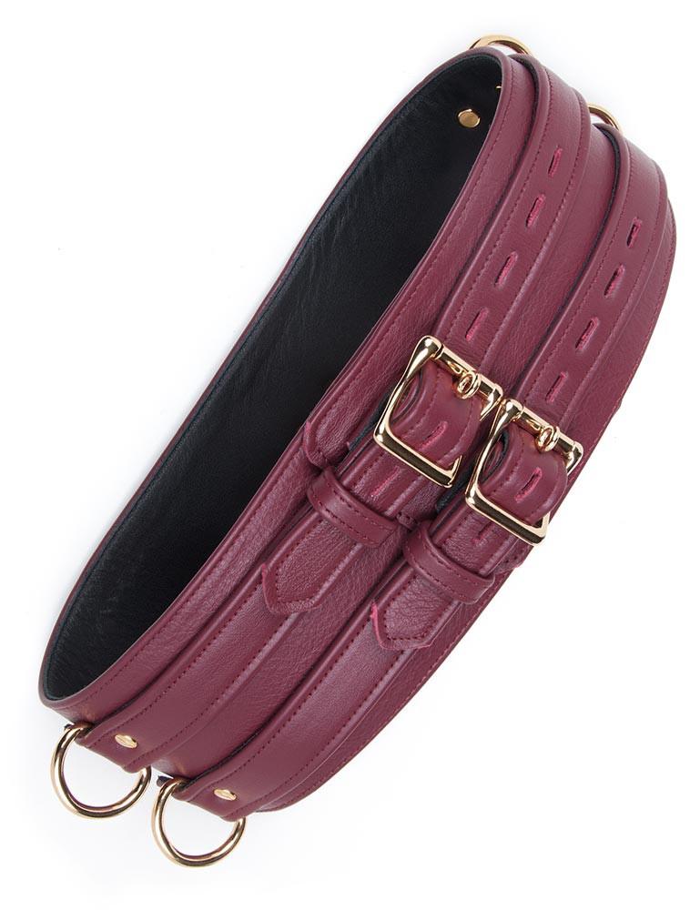 JT Signature Collection Leather Bondage Waist Cuff