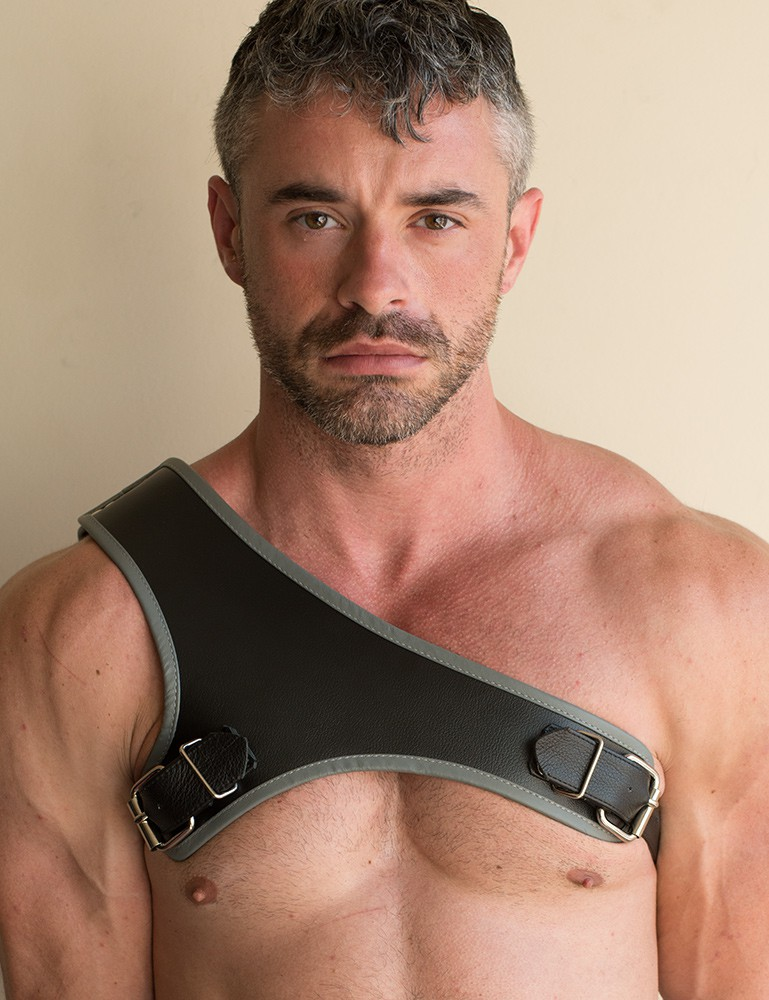 The Gladiator Leather Harness with Contrasting Trim