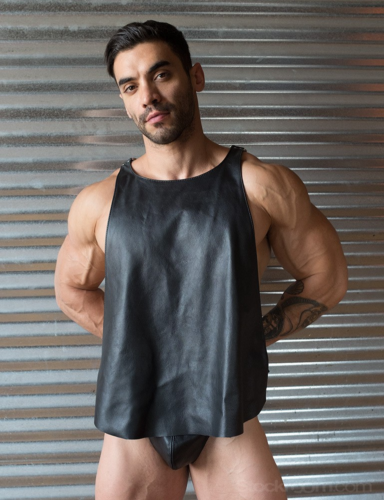 Butcher Leather Men's Tank Harness
