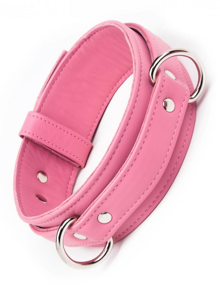 Locking Thigh Restraints, Pink, Small
