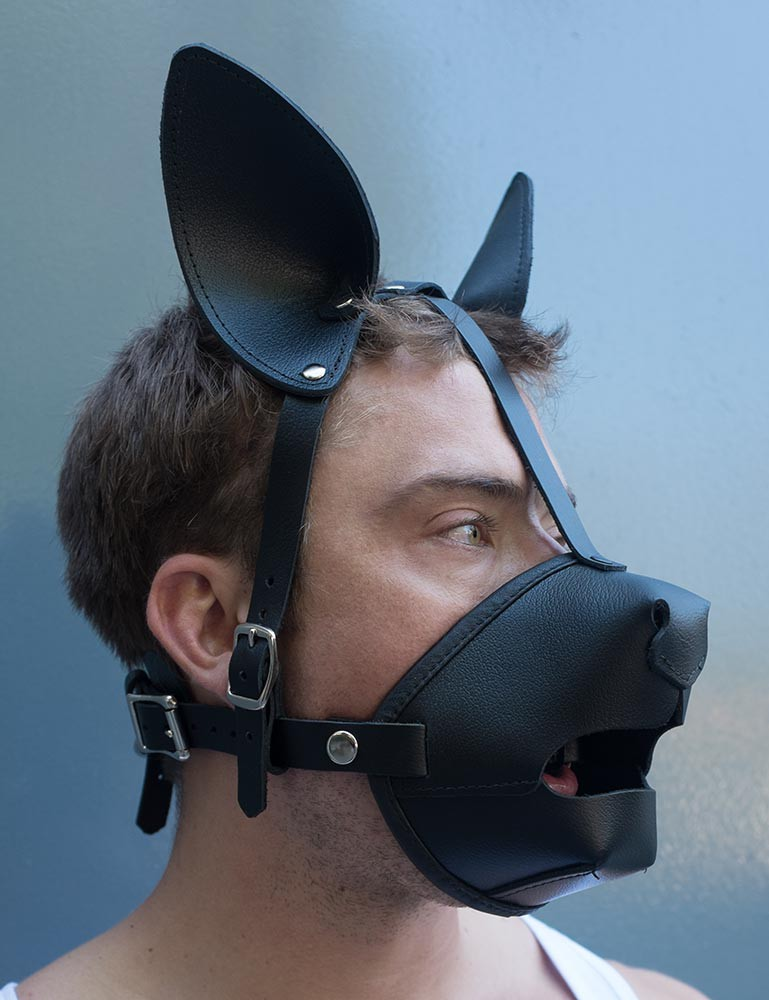 K9 Muzzle w/ Removable Silicone Ball Gag