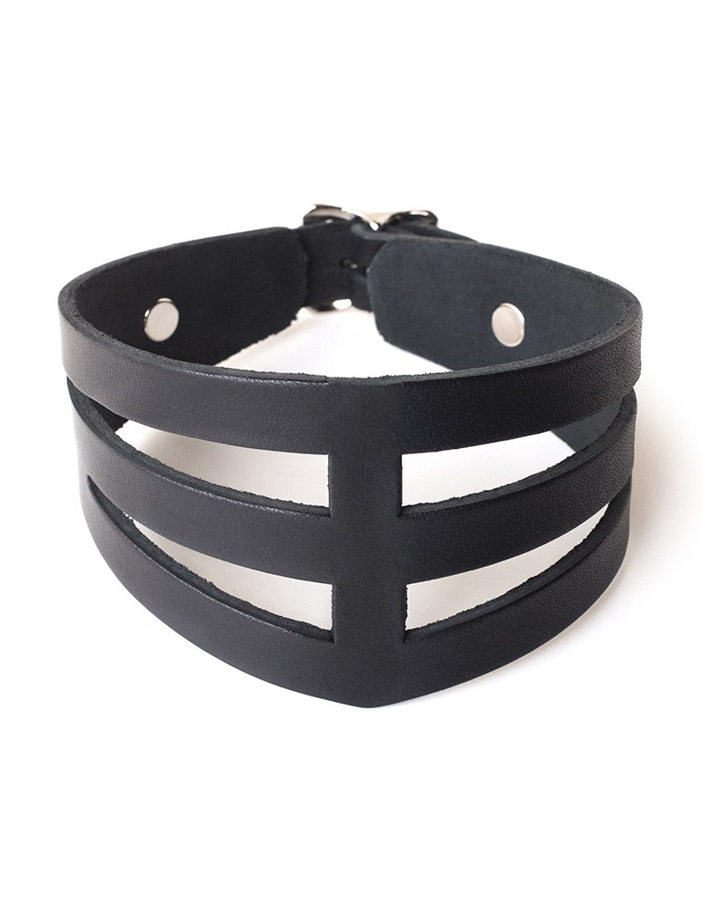 "STK Lux ""Dom"" Leather Collar"