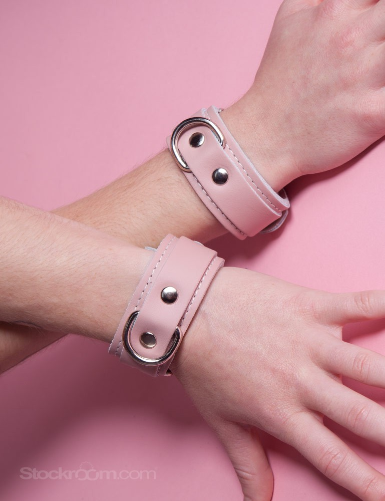 Stupid Cute Leather Wrist Cuffs