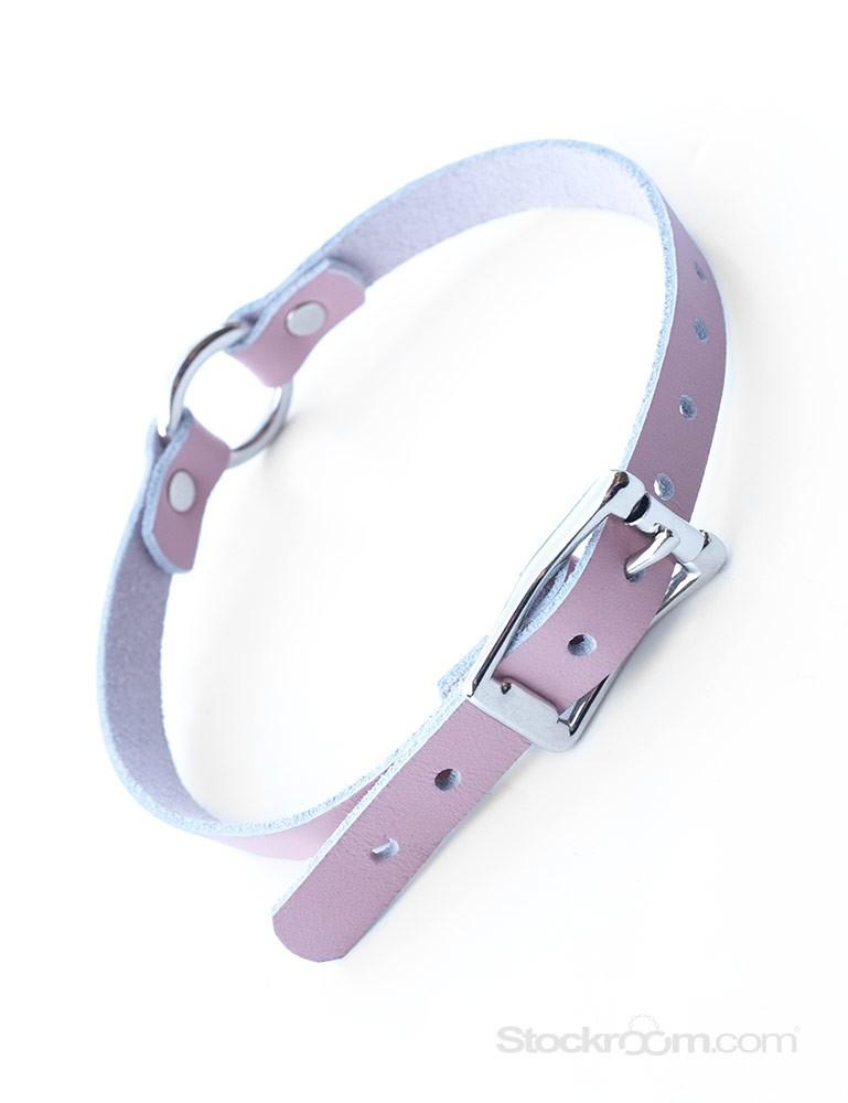 Stupid Cute O-Ring Leather Choker