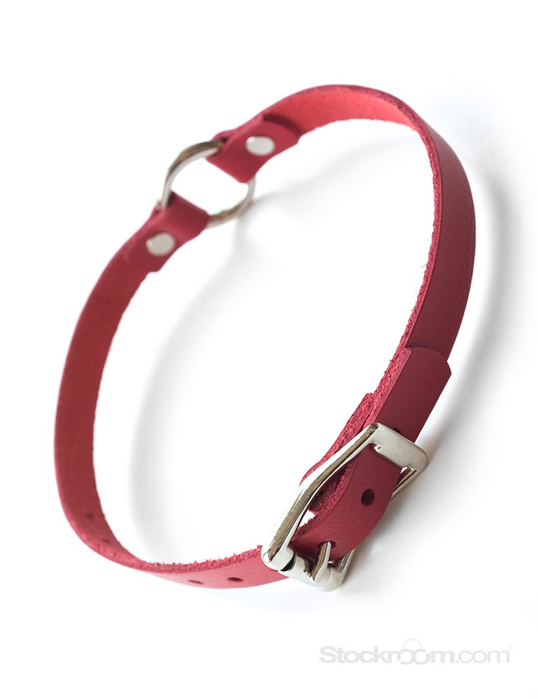 O-Ring Leather Choker