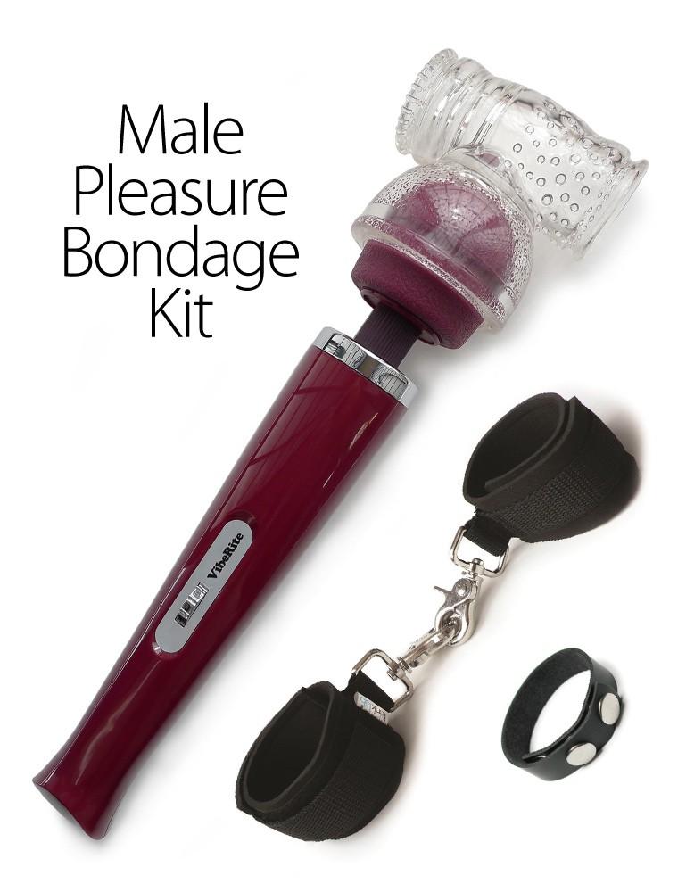 Male Pleasure Bondage Kit