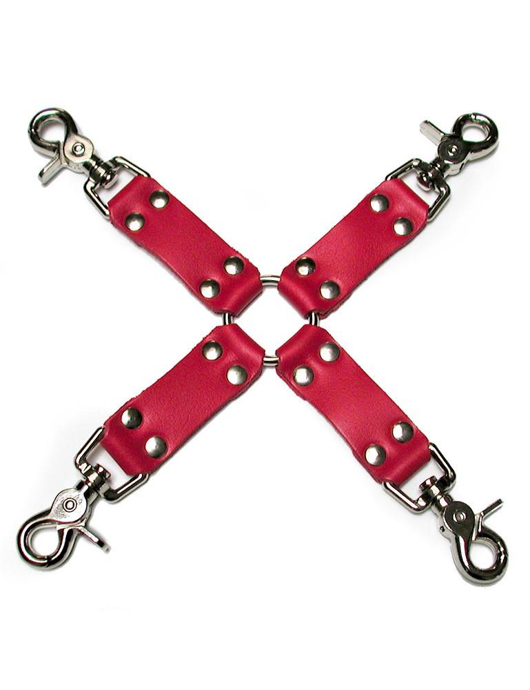 KinkLab Bondage Basics Leather Hog Tie