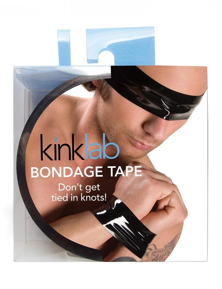 KinkLab Bondage Tape, Male Packaging
