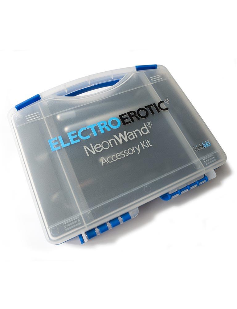 KL Neon Wand Electrode Accessory Kit, Purple