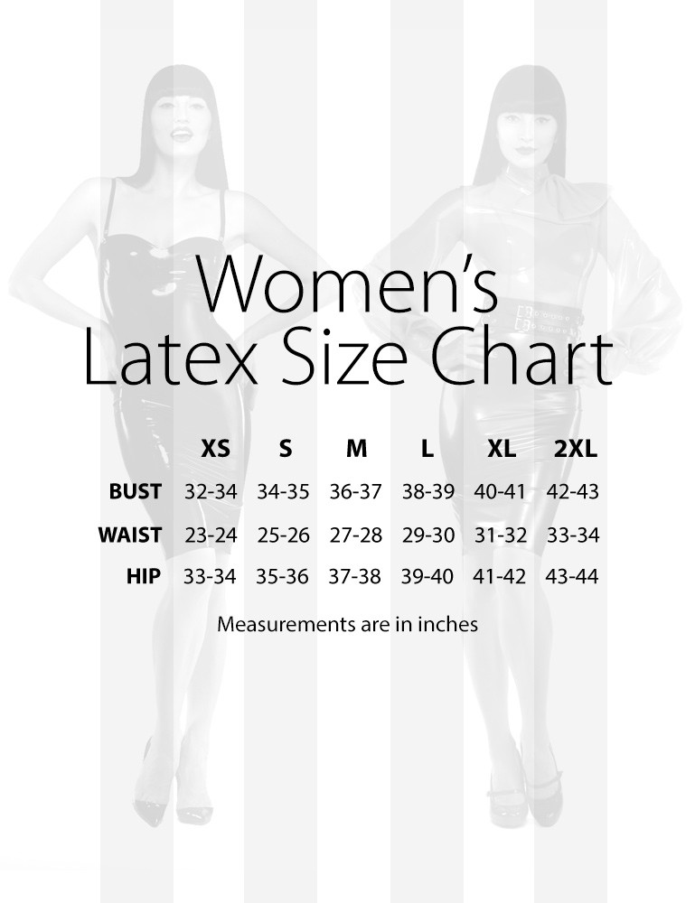 Syren Latex Micro Mini Skirt