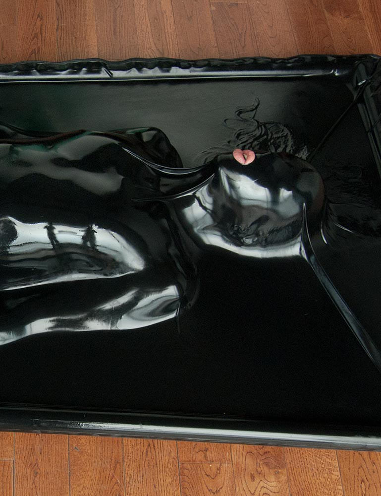 Latex Vacuum Bed Vac-Bed Bondage Enclosure