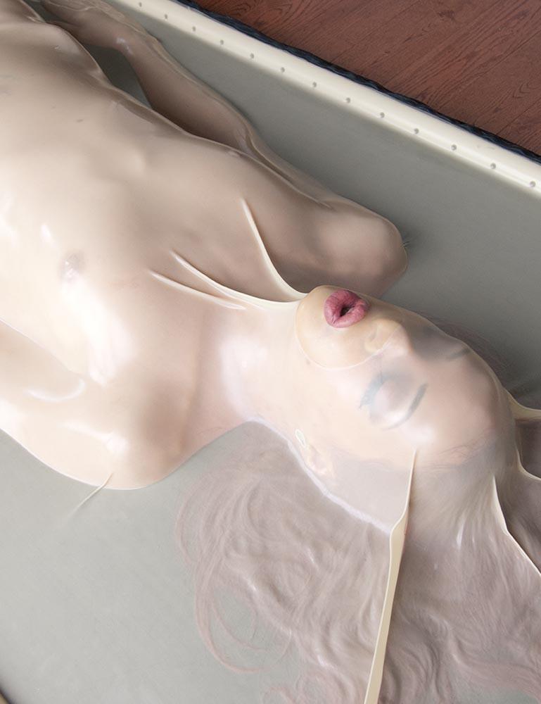 Lesbian Extreme Latex Bondage