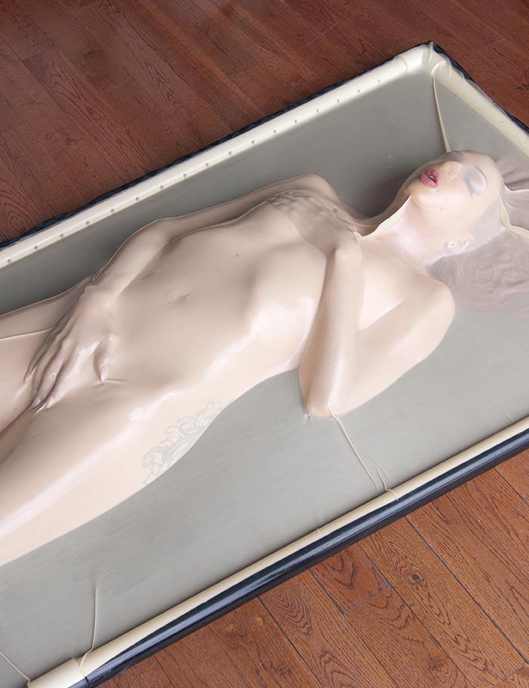 Latex Bondage Slave Girl
