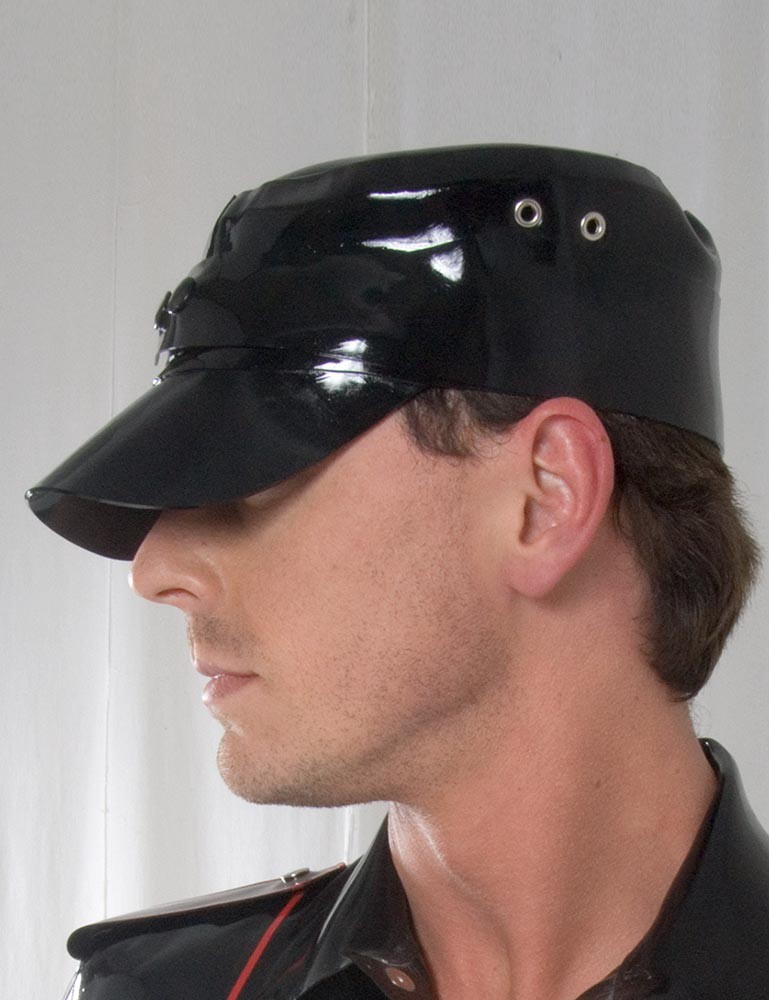 Rubber Soldiers Cap w/ Snaps